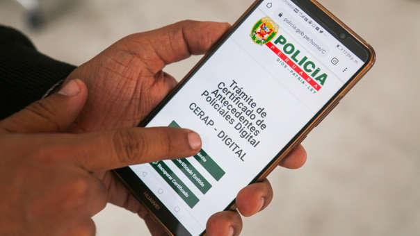 Certificado de Antecedentes Policiales Digital