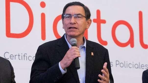 El presidente Vizcarra viajó a Piura para inaugurar obras en esa región.