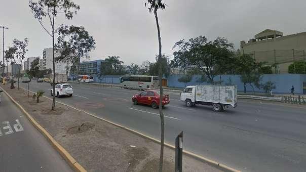 El accidente ocurrió a la altura del kilómetro 7 de la Panamericana Sur.