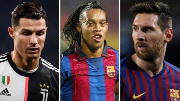 Cristiano Ronaldo - Lionel Messi - Ronaldinho