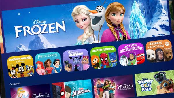 Disney Plus ha tenido una interesante acogida durante las primeras 24 horas de servicio