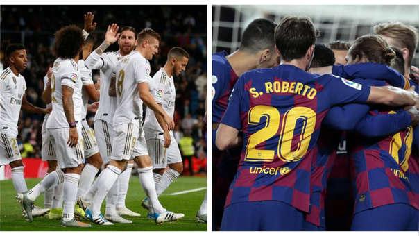 Jugadores de Real Madrid mostraron su fastidio por el día más de descanso que tendrá Barcelona antes del clásico