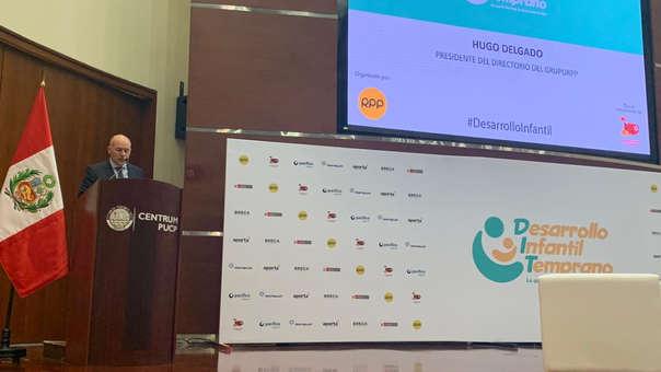 Hugo Delgado inauguró el I Foro Desarrollo Infantil Temprano y resaltó la importancia de visibilizar este tema a nivel nacional.