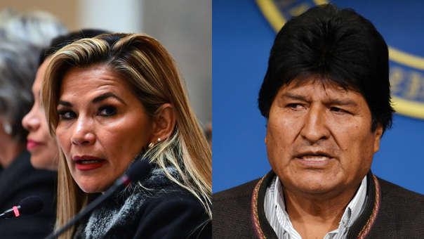 Jeanine Añez -Evo Morales