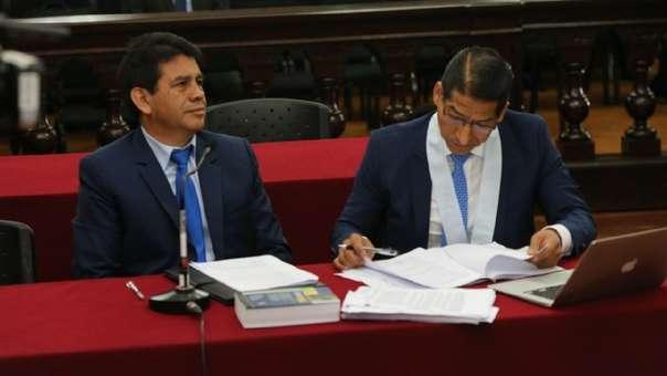 Poder Judicial realizó audiencia de impedimento de salida del país.