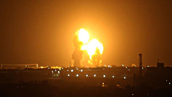 Ataque de Israel sobre Gaza