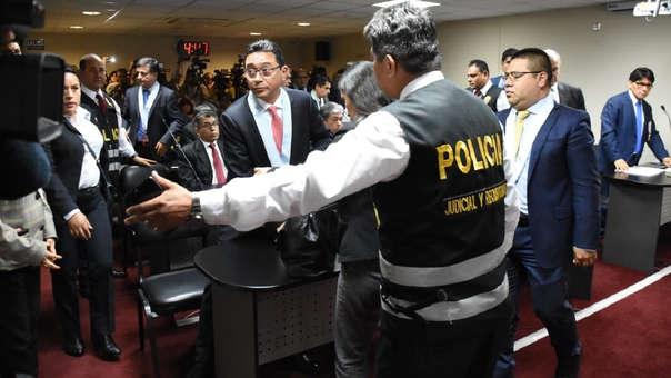 El juez Jorge Chávez Tamariz aceptó en parte el pedido de prisión preventiva hecho por la Fiscalía.