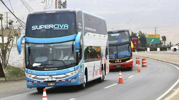 Servicio de transporte interprovincial