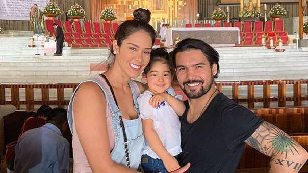 Karen Schwarz y Ezio Oliva confirmaron que serán padres por segunda vez.