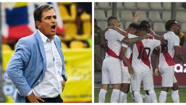 Jorge Luis Pinto sobre el Perú vs. Colombia: