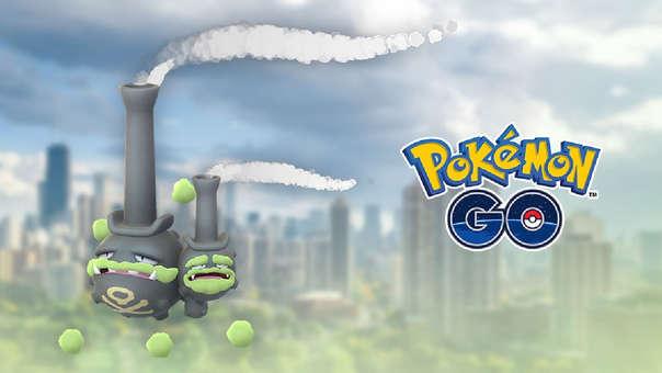 Weezing de Galar en Pokémon GO