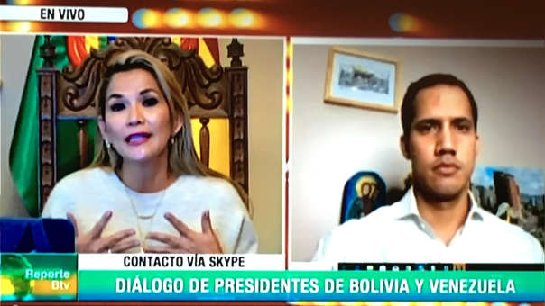BOLIVIA-VENEZUELA-CRISIS-ANEZ-GUAIDO