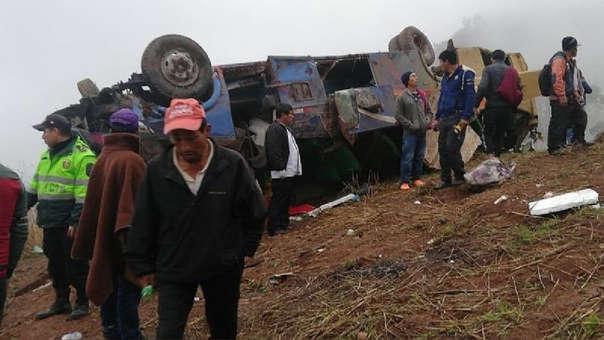 Accidente en Otuzco