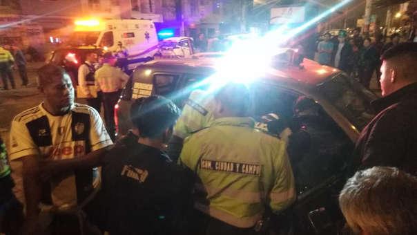 PNP capturó a raqueteros del SJL