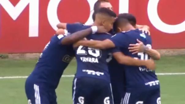 Horacio Calcaterra marcó el 1-0 para Sporting Cristal ante Alianza Universidad