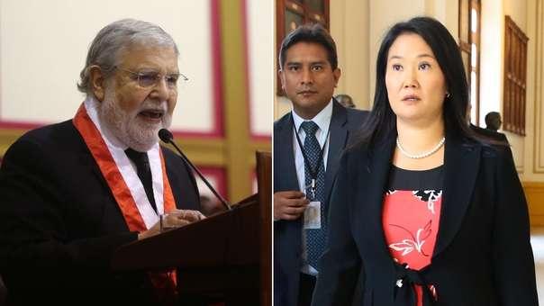 TC evalúa habeas corpus a favor de Keiko Fujimori.