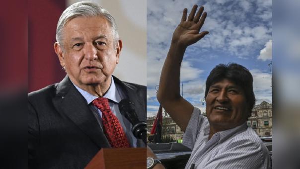 López Obrador y Evo Morales