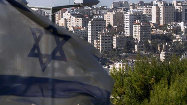 Colonias israelíes en territorio palestino