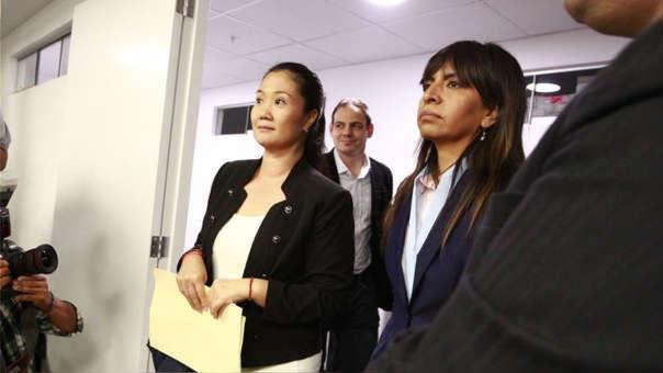 Keiko Fujimori y Giuliana Loza