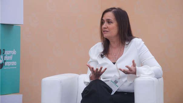 En su presentación, Frida Delgado hizo hincapié en la responsabilidad de compartir la información a todos los peruanos.