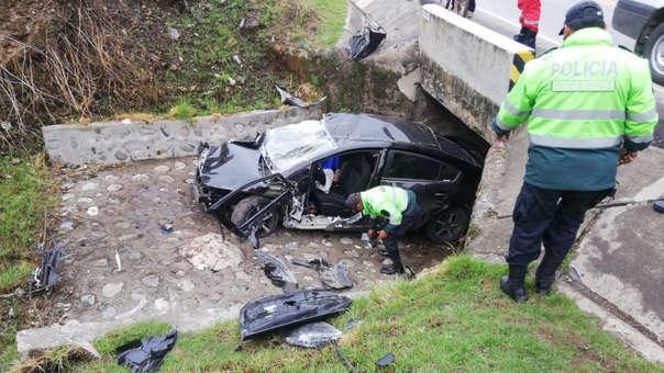 Accidente en Junín