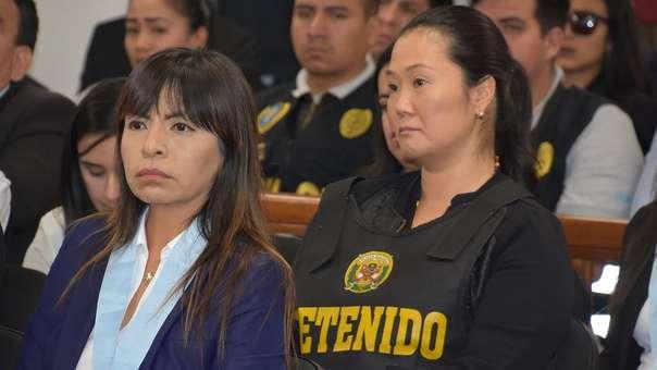 Keiko Fujimori permanece presa de manera preventiva.