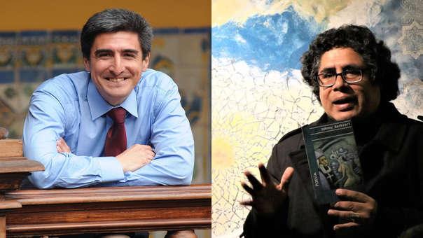 Alejandro Neyra y Johnny Barbieri