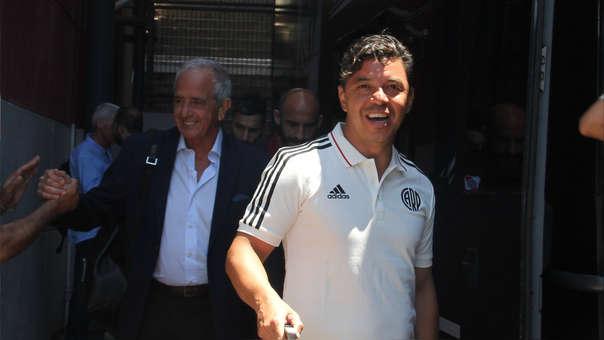 River - Flamengo: Marcelo Gallardo y su plantel están rumbo a Lima