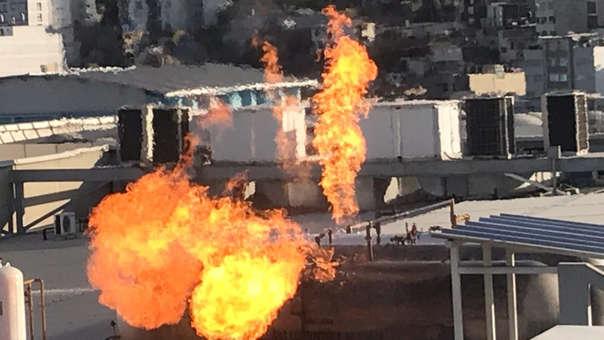 Fuga de gas en Arequipa