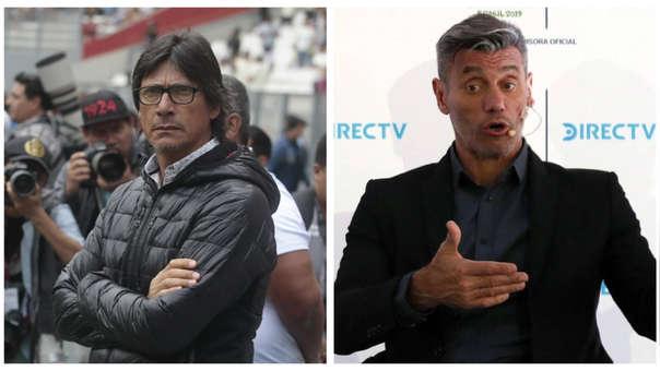 Ángel Comizzo le regaló una camiseta de Universitario a Sergio Goycochea