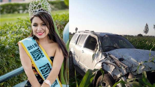 Evelin Noemí Zegarra Alvis, murió tras despiste de camioneta.