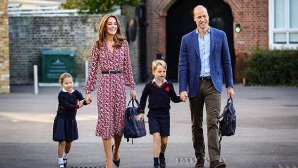 El príncipe William y su esposa Kate Middleton