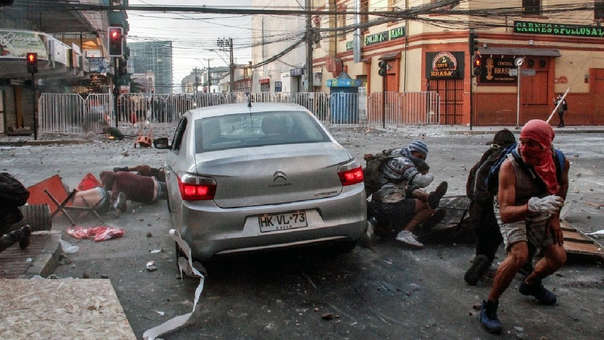 Atropello en Chile