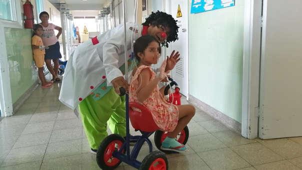 Área de Pediatría del Hospital Cayetano Heredia III.