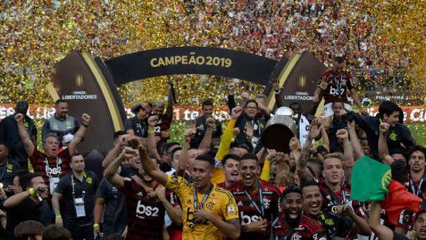 Flamengo campeón de la Copa Libertadores 2019