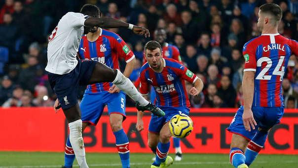 Liverpool vs. Crystal Palace EN VIVO: empatan 1-1 por la fecha 13 de la Premier League