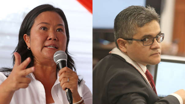 Keiko Fujimori cree que el fiscal José Domingo Pérez oculta documentación reservada a su defensa legal y en simultáneo filtra información a los medios.
