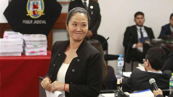 Keiko Fujimori señaló que su investigación ha estado marcada por la