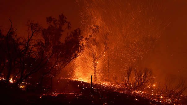 CALIFORNIA INCENDIO FORESTAL