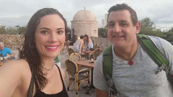 Sergio Galliani y Connie Chaparro