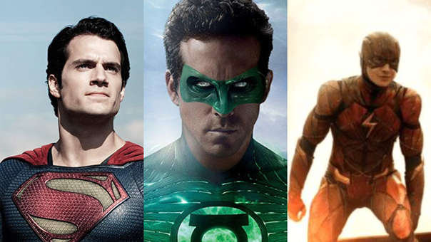 DC Films alista nuevas producciones en torno a Superman, Linterna Verde y Flash