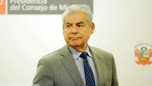 César Villanueva fue presidente del Consejo de Ministros.