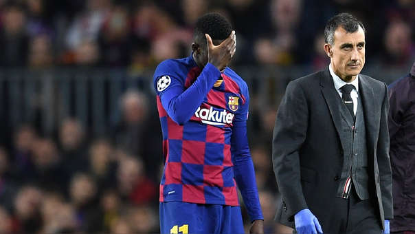 Barcelona vs. Borussia Dortmund | Ousmane Dembélé: parte médico ...
