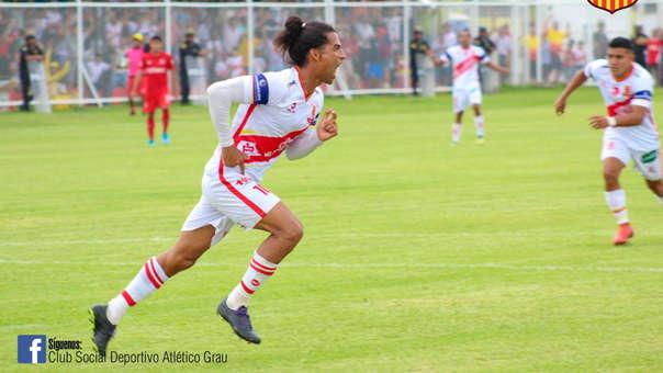 Atlético Grau goleó a Aurich en el partido de ida por los play off de la Liga 2