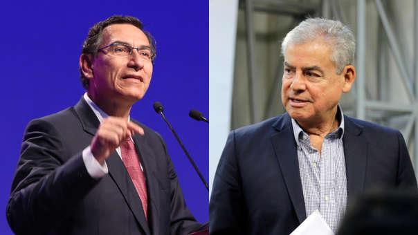 Martín Vizcarra insistió que el Gobierno luchará contra la corrupción caiga quien caiga así sea un exfuncionario del Gobierno.