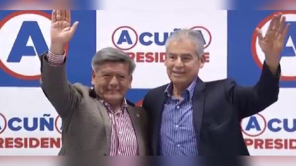 César Acuña y César Villanueva