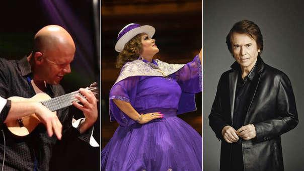 Gian Marco, Amanda Portales y Raphael