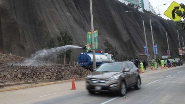 Medida busca prevenir accidentes en la vía de la Costa Verde.