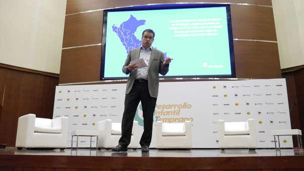 Gonzalo Quijandría explicó que no solo era importante enfocarse en nutrición, sino también en la relación de padres e hijos.