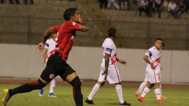 Jair Córdova le dio el 1-0 a Juan Aurich ante Atlético Grau por los playoff de la Liga 2